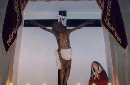 festa del Santissimo Crocifisso a Mojo Alcantara