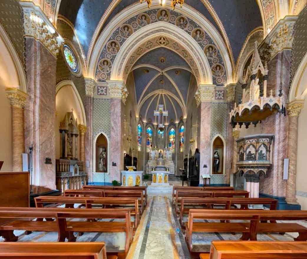 Chiesa di Maria Santissima del Rosario a Furci Siculo