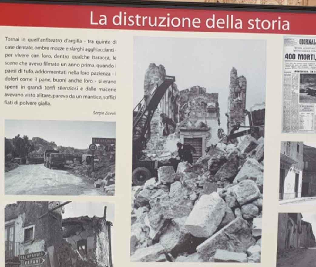 Storia museo della memoria Santa Margherita di Belice