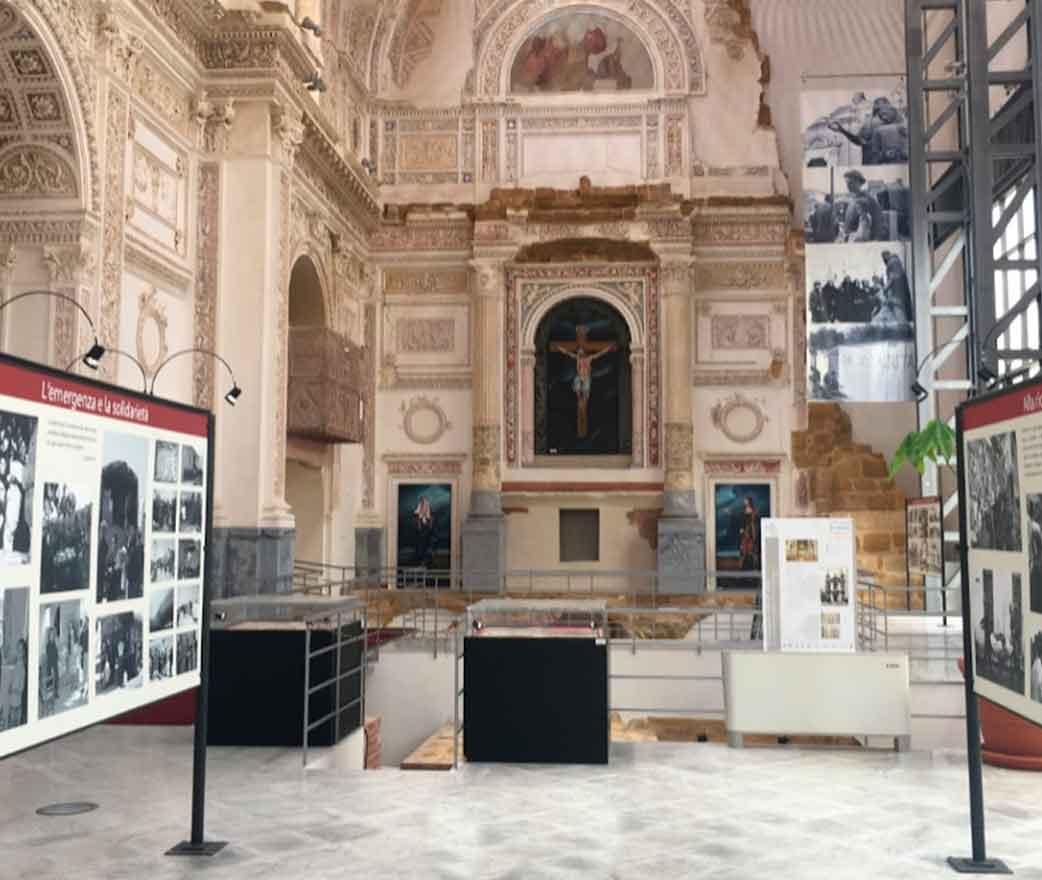 Museo della Memoria a Santa Margherita di Belice Agrigento